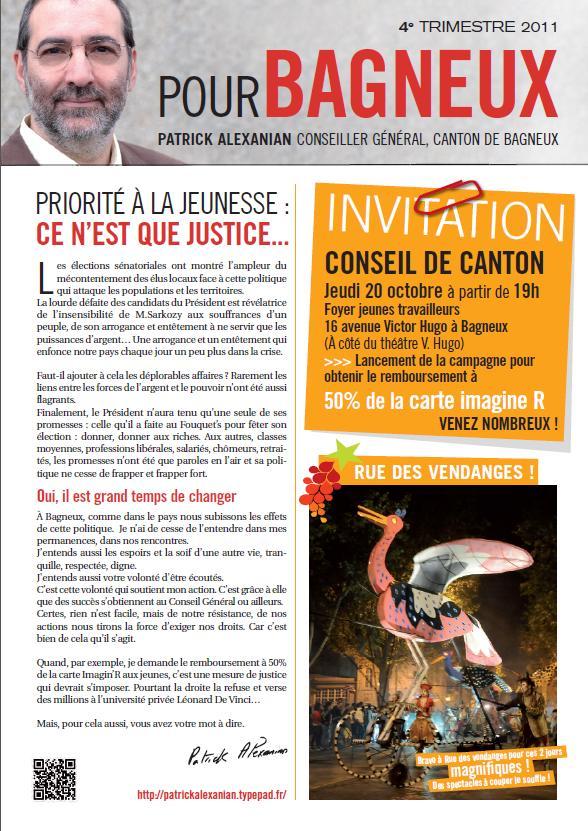 Page 1 journal de canton octobre 2011