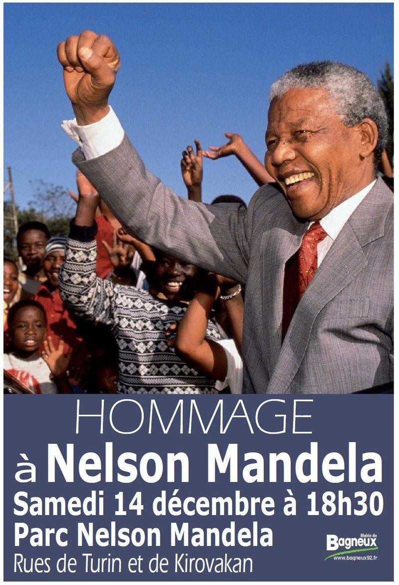 Hommage Mandela