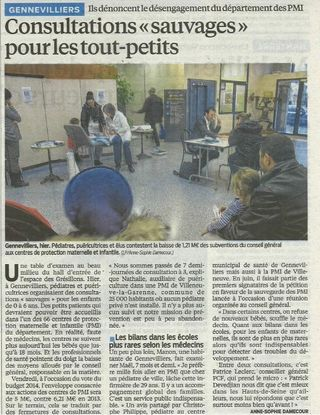 Article Le Parisien PMI 18.12.13